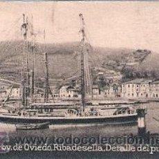 Postales: POSTAL ORIGINAL DECADA DE LOS 30. OVIEDO, PUERTO DE RIBADESELLA. Nº362. VER TAMAÑO Y EXPLICACION.. Lote 30145884
