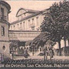 Postales: POSTAL ORIGINAL DECADA DE LOS 30. OVIEDO, LAS CALDAS, BALNEARIO. Nº 329. VER TAMAÑO Y EXPLICACION.. Lote 30146620
