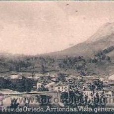 Postales: POSTAL ORIGINAL DECADA DE LOS 30. OVIEDO, ARRIONDAS. Nº 315. VER TAMAÑO Y EXPLICACION.. Lote 30147017