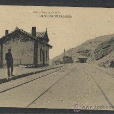 Postales: PAJARES - ESTACION - (8738). Lote 30176313