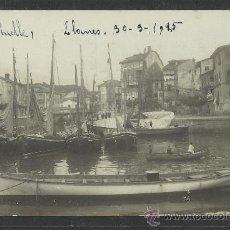 Postales: LLANES - MUELLE - 1915 - FOTOGRAFICA - (8742). Lote 30176391