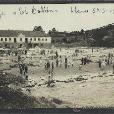 Postales: LLANES - PLAYA EL SABLON - 1915 - FOTOGRAFICA - (8743). Lote 30176410