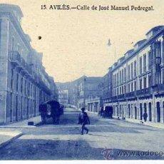 Postales: AVILES. ASTURIAS. 15. LIBRERIA LA ESPERANZA. CALLE DE JOSÉ MANUEL PEDREGAL.. Lote 30276072