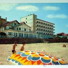 Postales: POSTAL RIBADESELLA GRAN HOTEL DEL SELLA EDICIONES ALCE AÑOS 80 CIRCULADA. Lote 30520989