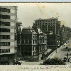 Postales: POSTAL OVIEDO CALLE DEL MARQUES DE SANTA CRUZ. Lote 30552012