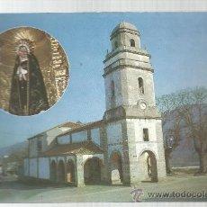 Postales: POSTAL NUESTRA SEÑOREA DE LOS DOLORS S. MARTIN DE LUIÑA ASTURIAS IGLESIA VIRGE DOLORES. Lote 30660185
