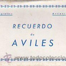 Postales: AVILÉS.- ACORDEÓN DE 10 POSTALES DE EDICIONES A. NUÑEZ.. Lote 30802731