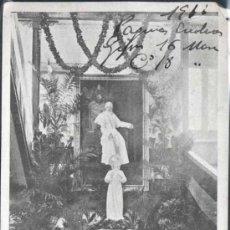 Postales: COLEGIO DE GIJÓN.- 27 DICIEMBRE DE 1908. Lote 31107987