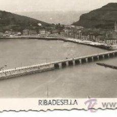 Postales: RIBADESELLA-ASTURIAS-FOTOGRAFICA. Lote 31205099