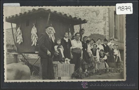 SAMA - FOTO TAMAÑO POSTAL - VER REVERSO - FOTO ORTEGA - (9879) (Postales - España - Asturias Antigua (hasta 1.939))