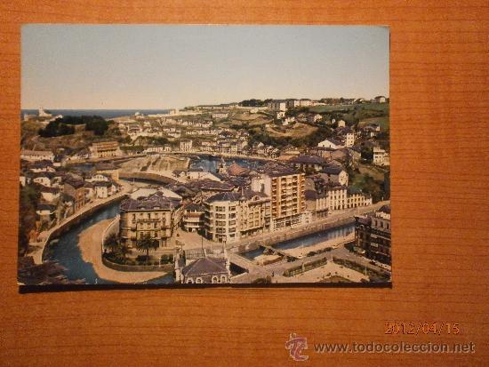 POSTAL LUARCA VISTA PARCIAL CIRCULADA (Postales - España - Asturias Moderna (desde 1.940))
