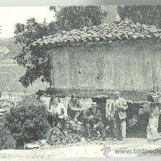 Postales: TARJETA POSTAL DE OVIEDO - PUERTO DE PAJARES UN HORREO Nº 36 - ASTURIAS. Lote 31532910