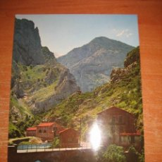 Postales: Nº 281-RUTA DESFILADERO DEL CARES EMBALSE Y PARADOR DE PONCEBOS(CAMAREÑA) EDICIONES ALCE. Lote 31576613