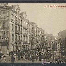 Postales: OVIEDO - 14 - CALLE DE FRUELA - THOMAS - (10030). Lote 31581920