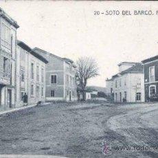 Postales: SOTO DEL BARCO (ASTURIAS).- PUERTA DEL SOL. Lote 31719498
