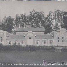 Postales: NOREÑA (ASTURIAS).- GRAN FABRICA DE CONSERVAS ALIMENTICIAS