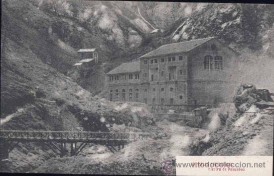 CABRALES (ASTURIAS).- ELECTRA DE PONCEBOS (Postales - España - Asturias Antigua (hasta 1.939))
