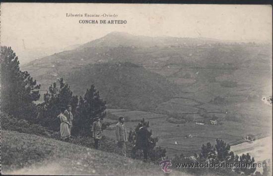 CONCHA DE ARTEDO (ASTURIAS) (Postales - España - Asturias Antigua (hasta 1.939))