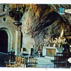 Postales: POSTAL ASTURIAS COVADONGA INTERIOR CUEVA VIRGEN ED PERGAMINO AÑOS 60 SIN CIRCULAR. Lote 32294073