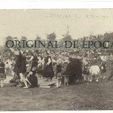 Postales: (PS-28425)POSTAL FOTOGRAFICA DE LLANES-FIESTAS DE SAN ROQUE 1928. Lote 32650391