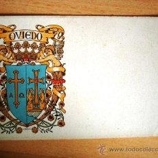 Postales: POSTAL ANTIGUA ASTURIAS. OVIEDO. HERMENEGILDO MIRALLES. DORSO SIN DIVIDIR. Lote 32661721