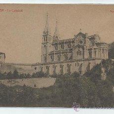 Postales: COVADONGA.-LA CATEDRAL.-POSTAL VINCK. Lote 32843920