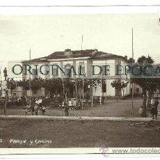 Postales: (PS-28682)POSTAL FOTOGRAFICA DE TAPIA-PARQUE Y CASINO. Lote 33116229