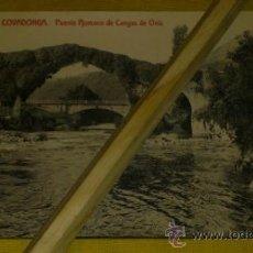 Postales: POSTAL-FOTOTIPIA NUM 69 COVADONGA, PUENTE ROMANO DE CANGAS DE ONIS. Lote 35183010