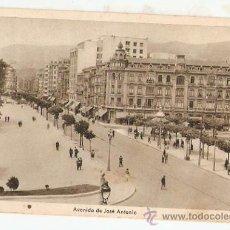 Postales: OVIEDO 8.AVDA JOSE ANTONIO,ED ARRIBAS ESCRITA 1951 . VELL I BELL. Lote 33538197