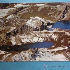 Postales: POSTAL DE PICOS DE EUROPA, ASTURIAS. AÑO 1979. LAGOS ERCINA Y ENOL. 471 . Lote 33873409