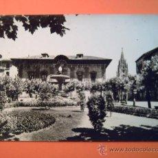 Postales: OVIEDO -8- PLAZA DEL PORTIER Y AUDIENCIA PALACIO DEL CAMPO SAGRADO. Lote 34272297