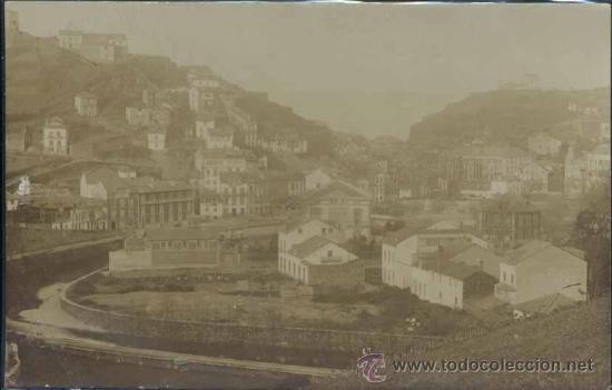 LUARCA (ASTURIAS).- FOTOGRÁFICA (Postales - España - Asturias Antigua (hasta 1.939))