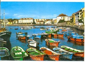 7-ESP1392. POSTAL ASTURIAS. LUANCO. EL PUERTO (Postales - España - Asturias Moderna (desde 1.940))