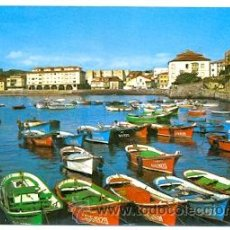 Cartes Postales: 7-ESP1392. POSTAL ASTURIAS. LUANCO. EL PUERTO. Lote 34518163