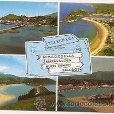 Postales: RIBADESELLA. Lote 34756133