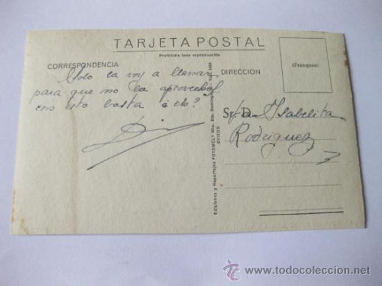 Postales: POSTAL FOTOGRAFICA DE PRAVIA - OVIEDO - COLEGIO SANTO ANGEL Y VIADUCTO - EDICIONES FOTOMELY - Foto 2 - 35338406