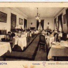 Postales: GIJON HOTEL SABOYA. COMEDOR. ASTURIAS. F. MESAS. ARTE BILBAO. SIN CIRCULAR.. Lote 35120974