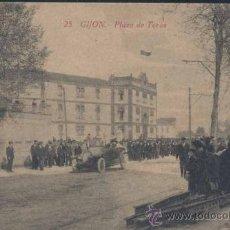 Postales: GIJÓN (ASTURIAS).- PLAZA DE TOROS. Lote 35425095