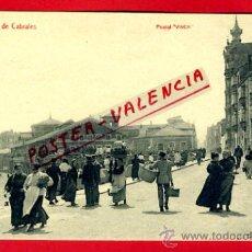Postales: POSTAL GIJON , CALLE DE CABRALES , VINCK , P75279. Lote 35603442