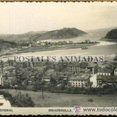 Postales: (A00587) RIBADESELLA - VISTA GENERAL - FOTOMELY Nº101. Lote 35648199