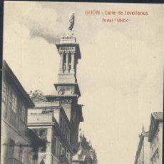 Postales: GIJÓN (ASTURIAS).- CALLE DE JOVELLANOS. Lote 36283674
