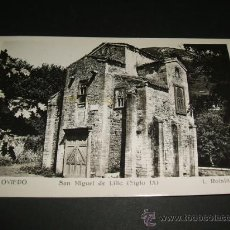 Postales: OVIEDO ASTURIAS SAN MIGUEL DE LILLO. Lote 36299572