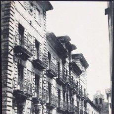 Postales: POSTAL AVILES ASTURIAS CALLE DE SAN BERNARDO PALACIO CAMPO SAGRADO . ESCOLAR - H. MENET CA 1920 .. Lote 36876561