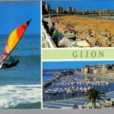 Postales: POSTAL DE GIJON (ESCRITA). Lote 36724983