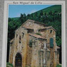Postales: POSTAL DE SAN MIGUEL DE LILLO. OVIEDO, ASTURIAS. Lote 36881151