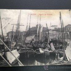 Postales: 20. POSTAL ANTIGUA GIJON MUELLE DE ORIENTE. Lote 37049016
