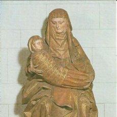 Postales: POSTAL SANTA TERESA JESUS, CATEDRAL OVIEDO, DE LUIS FERNANDEZ DE LA VEGA, GRAN FORMATO 13,5X19. Lote 37303630