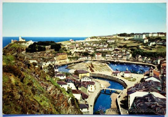 ASTURIAS. LUARCA. VISTA PARCIAL. (Postales - España - Asturias Moderna (desde 1.940))