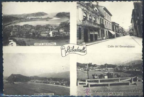 RIBADESELLA (ASTURIAS).- VISTAS (Postales - España - Asturias Moderna (desde 1.940))