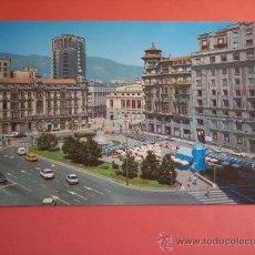 Postales: OVIEDO (PLAZA DE LA ESCANDALERA) AÑO 1988. Lote 38085744